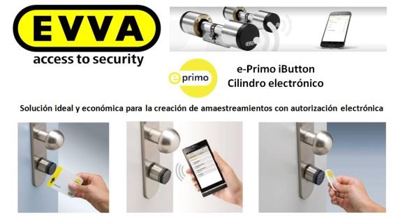 Cerrajeros Barcelona Cilindro EVVA E-PRIMO