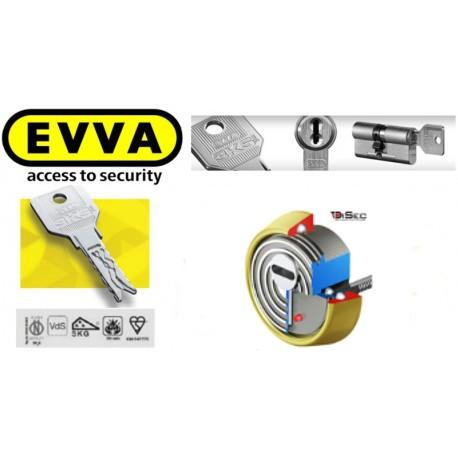 Escudo Protector Disec Cilindro EVVA 3ks Plus